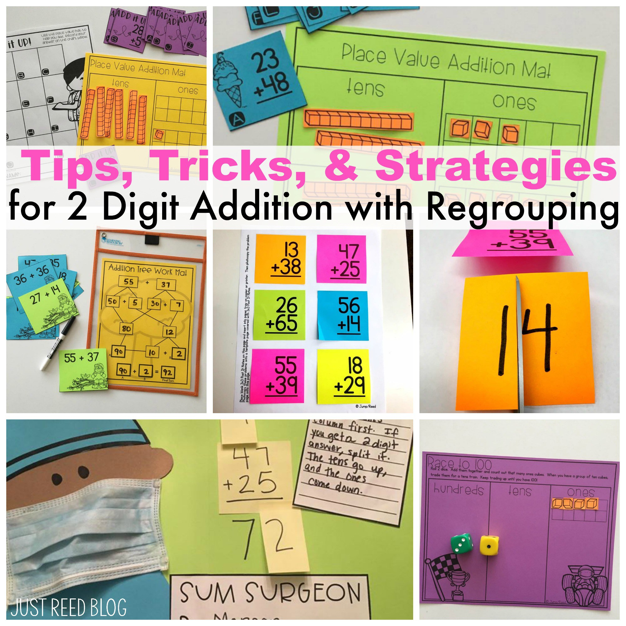 With regrouping tips tricks. Addition clipart two digit addition