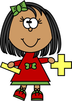 Kids with and subtraction. Addition clipart