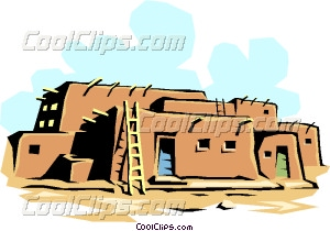 Building vector clip art. Adobe clipart