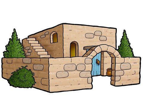 Freebibleimages clip art buildings. Adobe clipart bible house