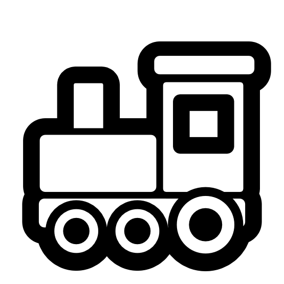 Clip art black and. Clipart bus train