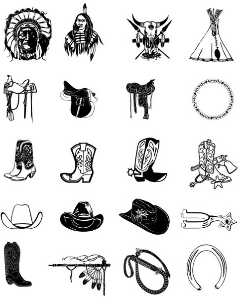 Black and white clip. Art clipart vector
