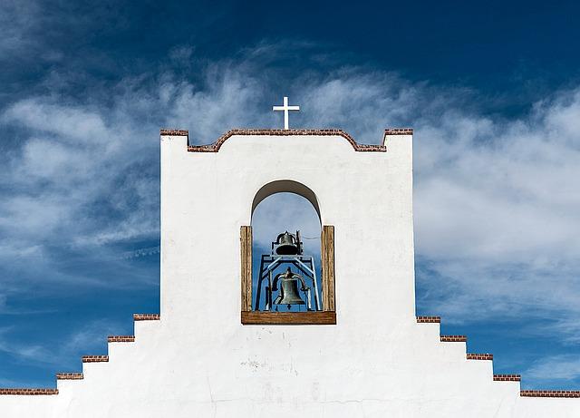 Free photo building pueblo. Adobe clipart church mission