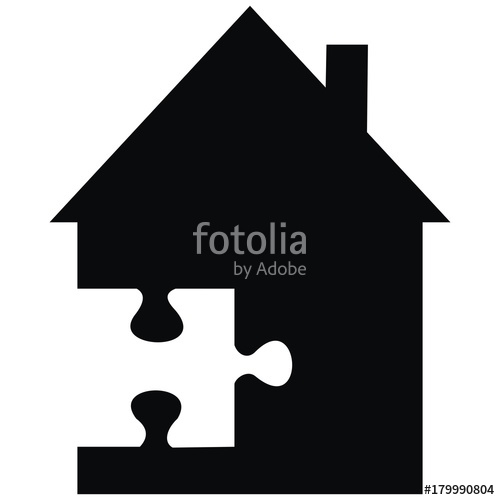 House and part of. Adobe clipart dwelling
