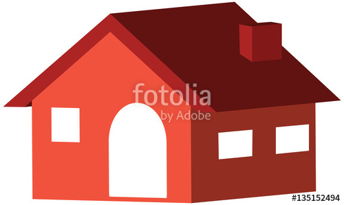 Home d icon in. Adobe clipart homes