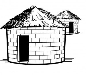 Adobe clipart mud house. Pin on self reliance