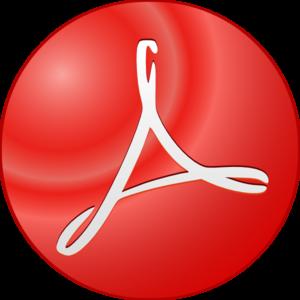 Acrobat clip art at. Adobe clipart symbol