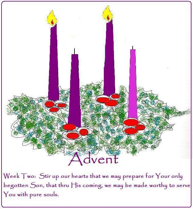 Advent clipart 2nd. Hilltop farm second sunday