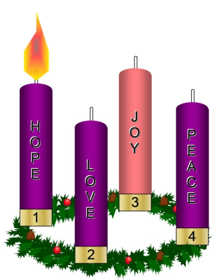 First week of clip. Advent clipart 2nd