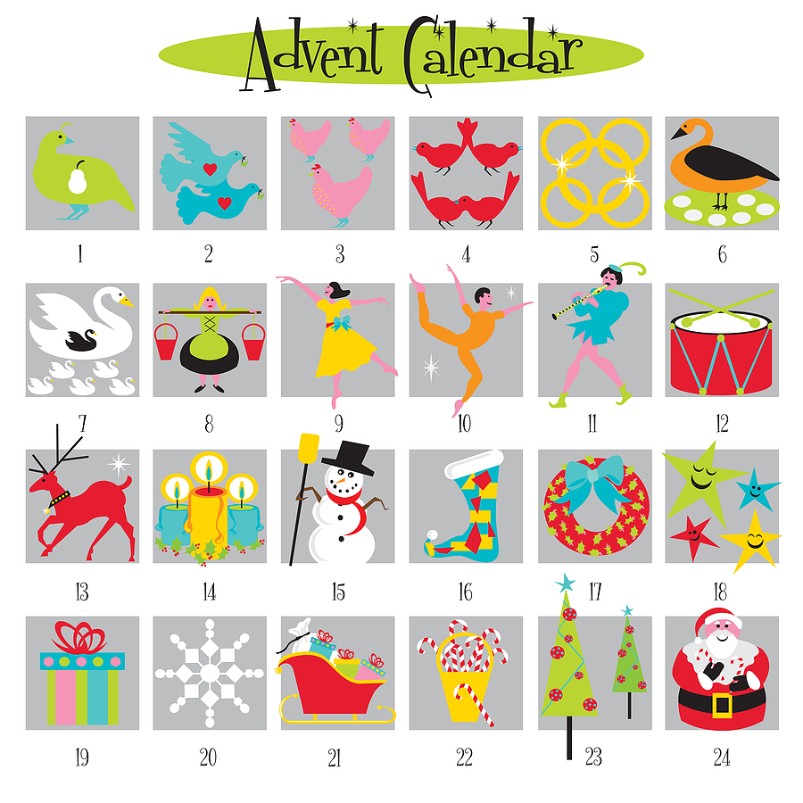 advent clipart advent calendar
