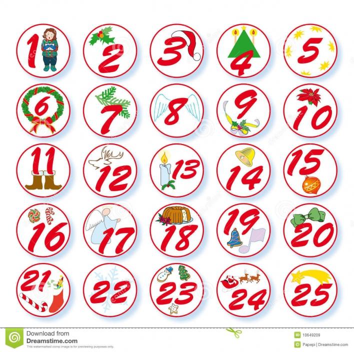 Free christmas printable blank. Advent clipart advent calendar
