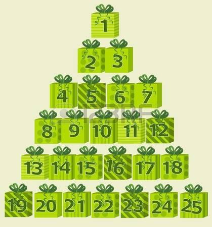 Advent clipart advent calendar. Clip art template stock