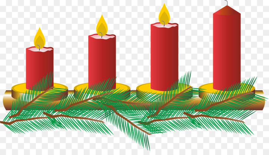 Christmas wreath illustration line. Advent clipart advent candle