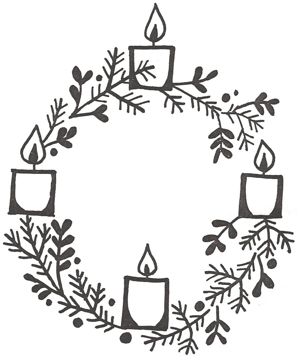Happy breslau mennonite church. Advent clipart advent season