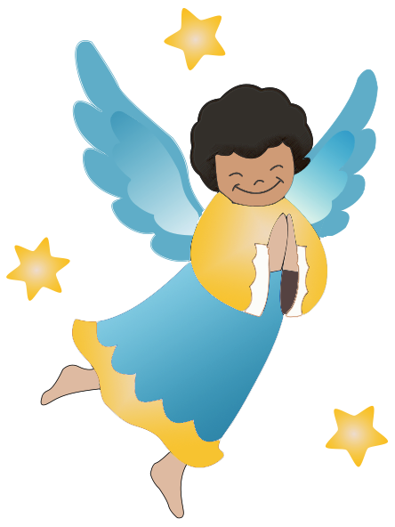 Free graphics of cherubs. Angel clipart