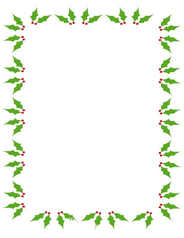 Free christmas clip art. Holly clipart email
