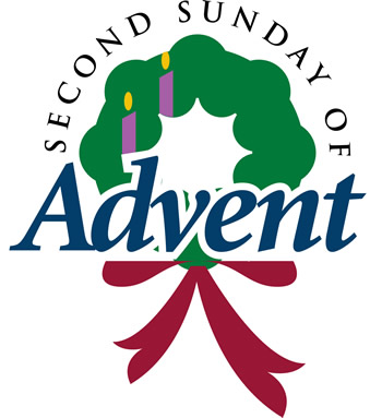 Wreath churchart online second. Advent clipart bulletin