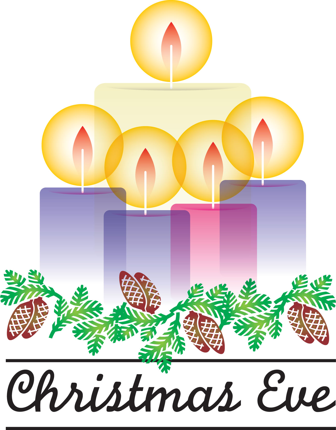 Christmas Eve Clipart.Advent Clipart Candlelight Service Advent Candlelight
