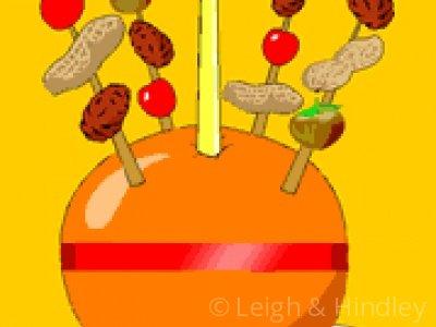 Leigh hindley service . Advent clipart christingle