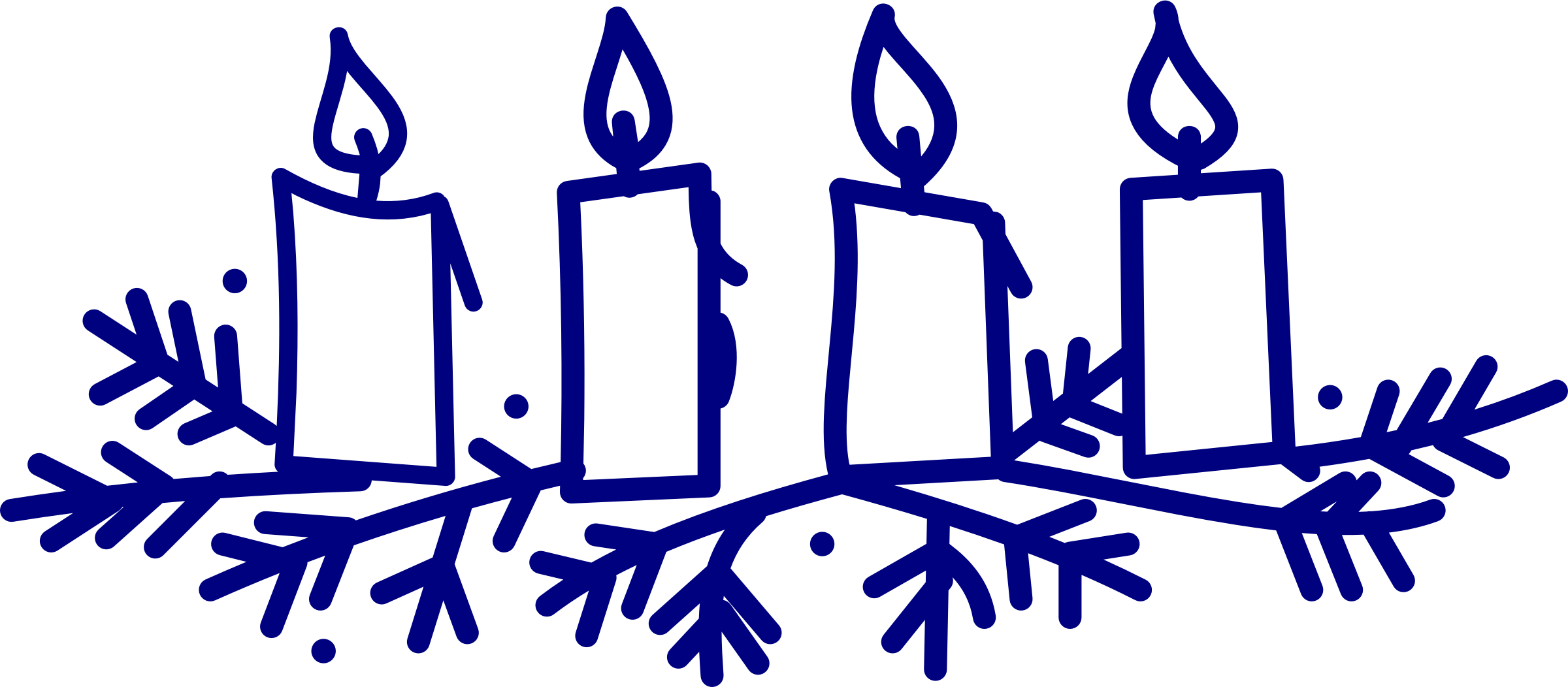 Clipart candle advent candle. Candles big image png
