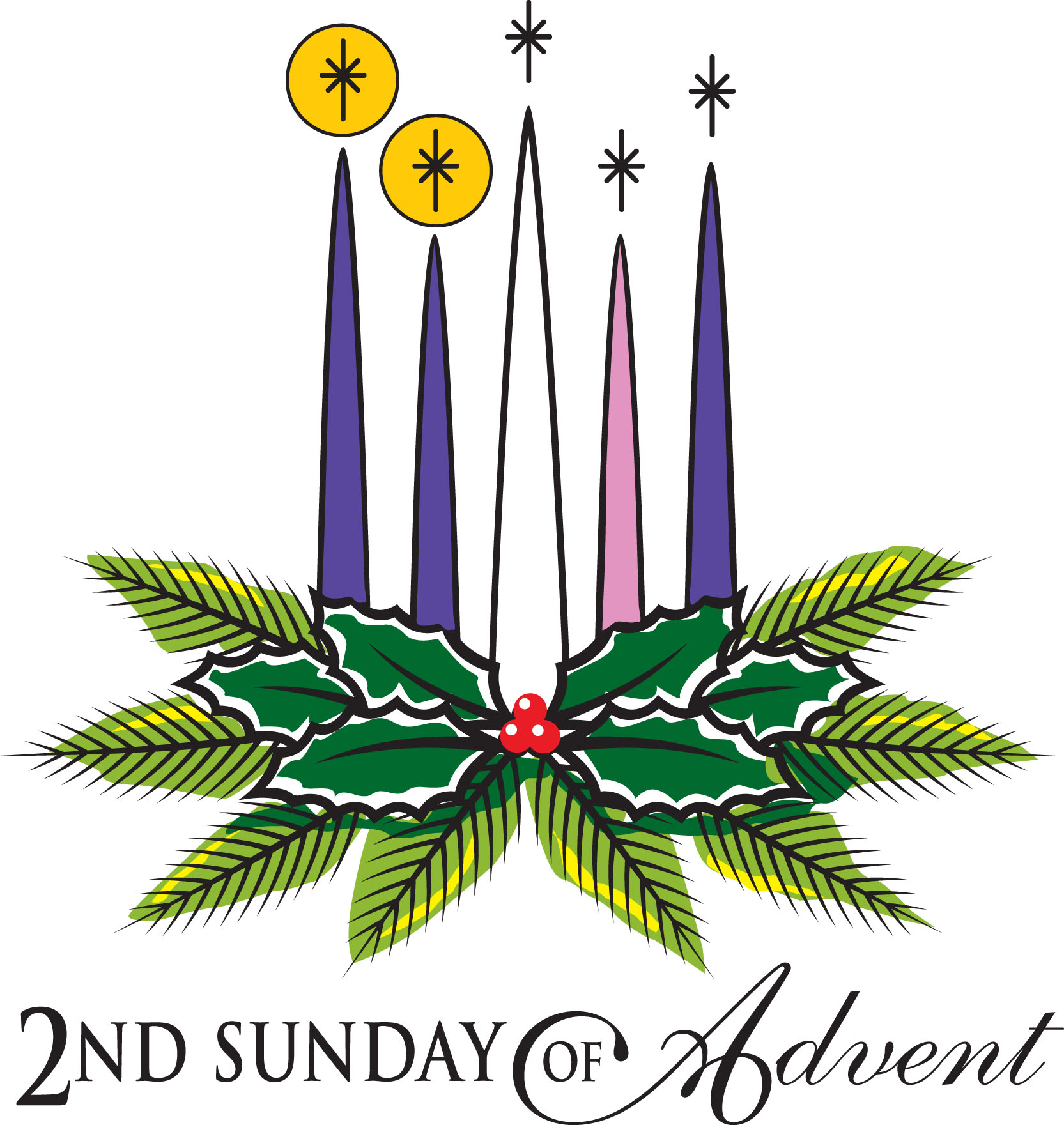 Advent clipart clip art. Second sunday of picture