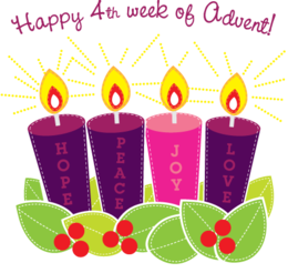 th sunday of. Advent clipart happy