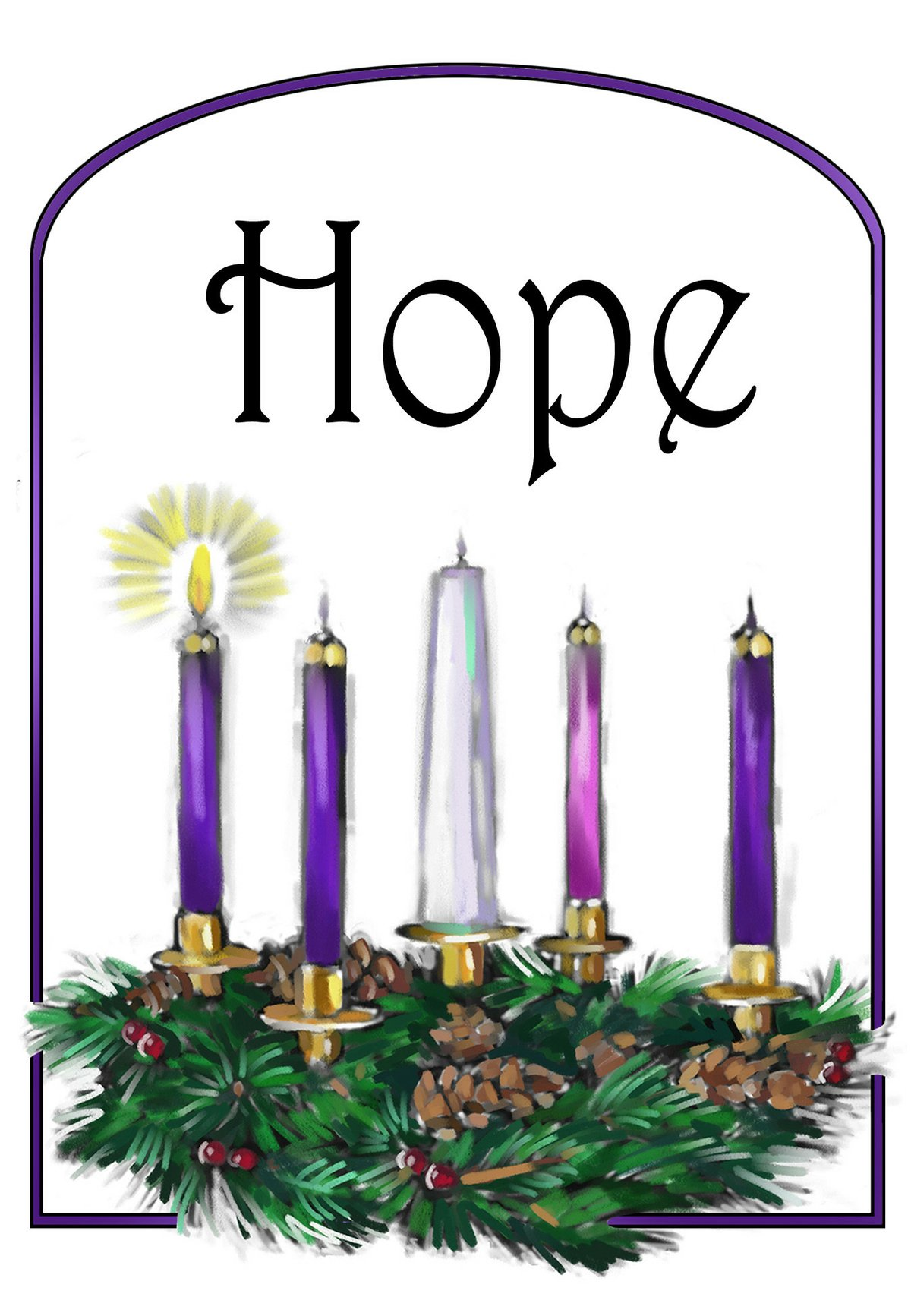 Advent clipart hope, Advent hope Transparent FREE for download on  WebStockReview 2020