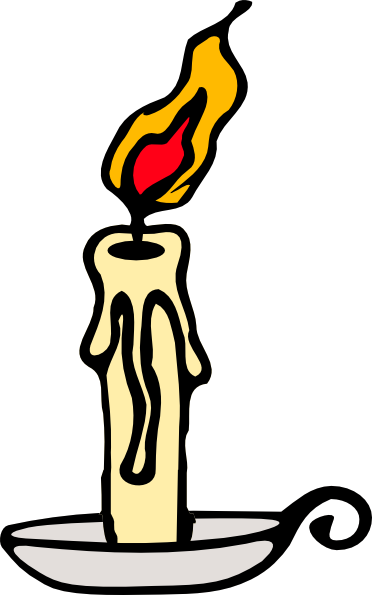 Candles clipart animated. Candle clip art at