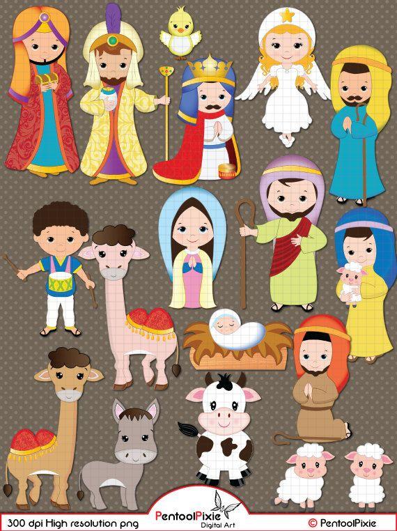 Manger clipart nativity shepherd. Clip art christmas