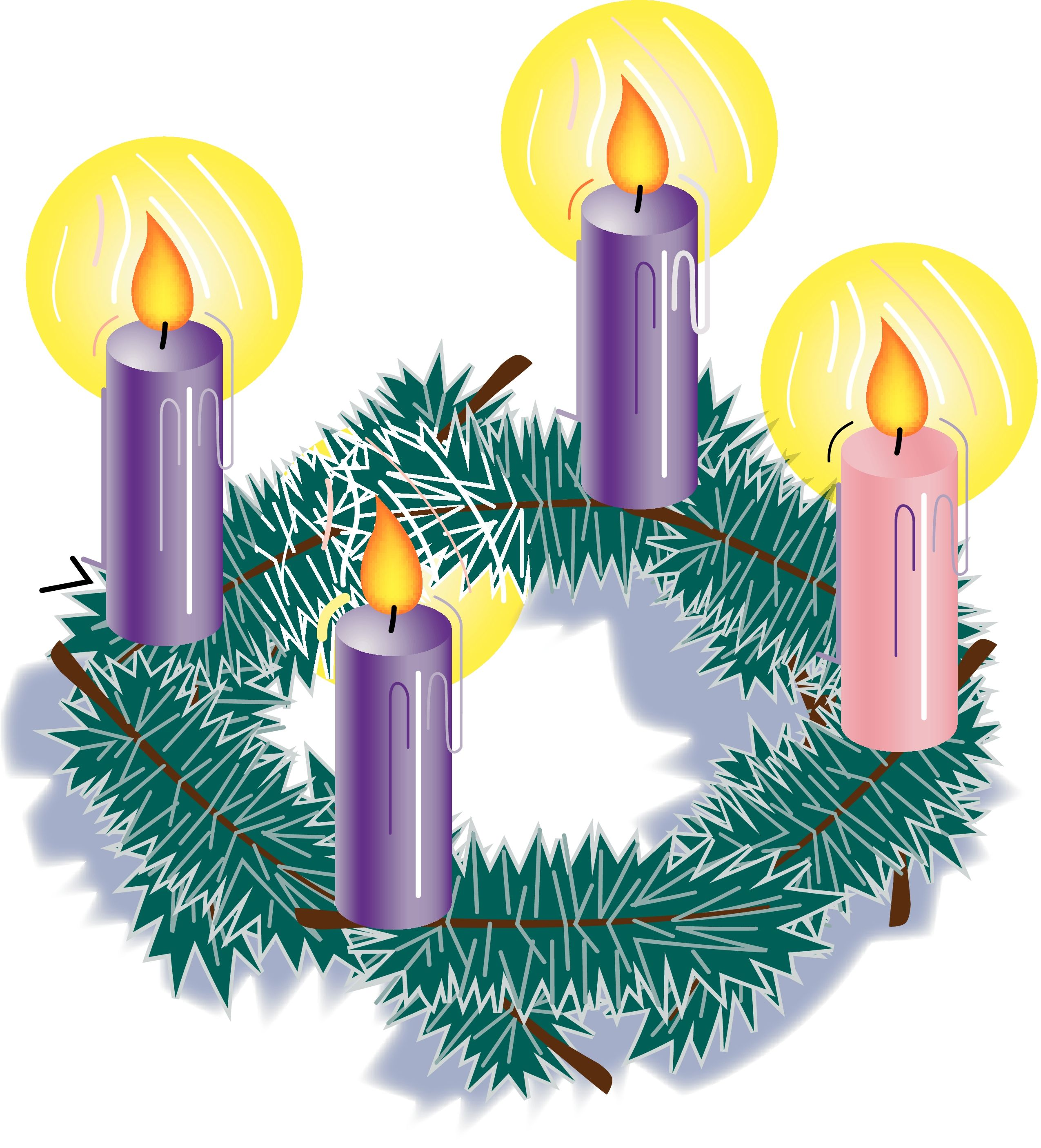 Advent transparent. Clipart mass free for