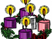 Wreath candles catholic aqlwnh. Advent clipart meaning