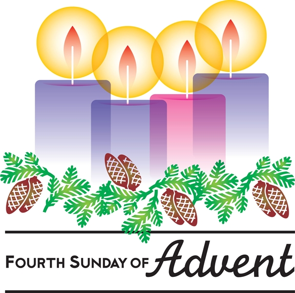 Advent clipart meaning. Fourth sunday of st
