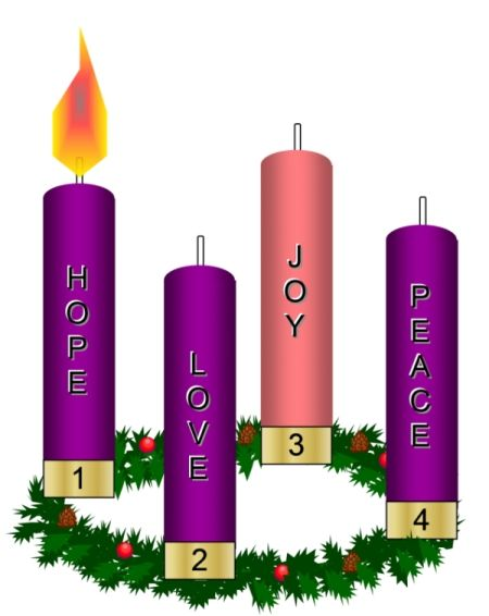 Catholic clipart advent.  awesome wreath embossing