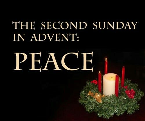 Advent clipart peace. Second week of feast