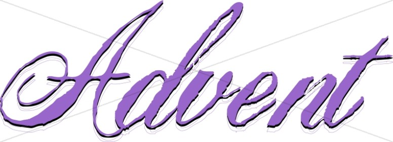 Candles word art for. Advent clipart religious