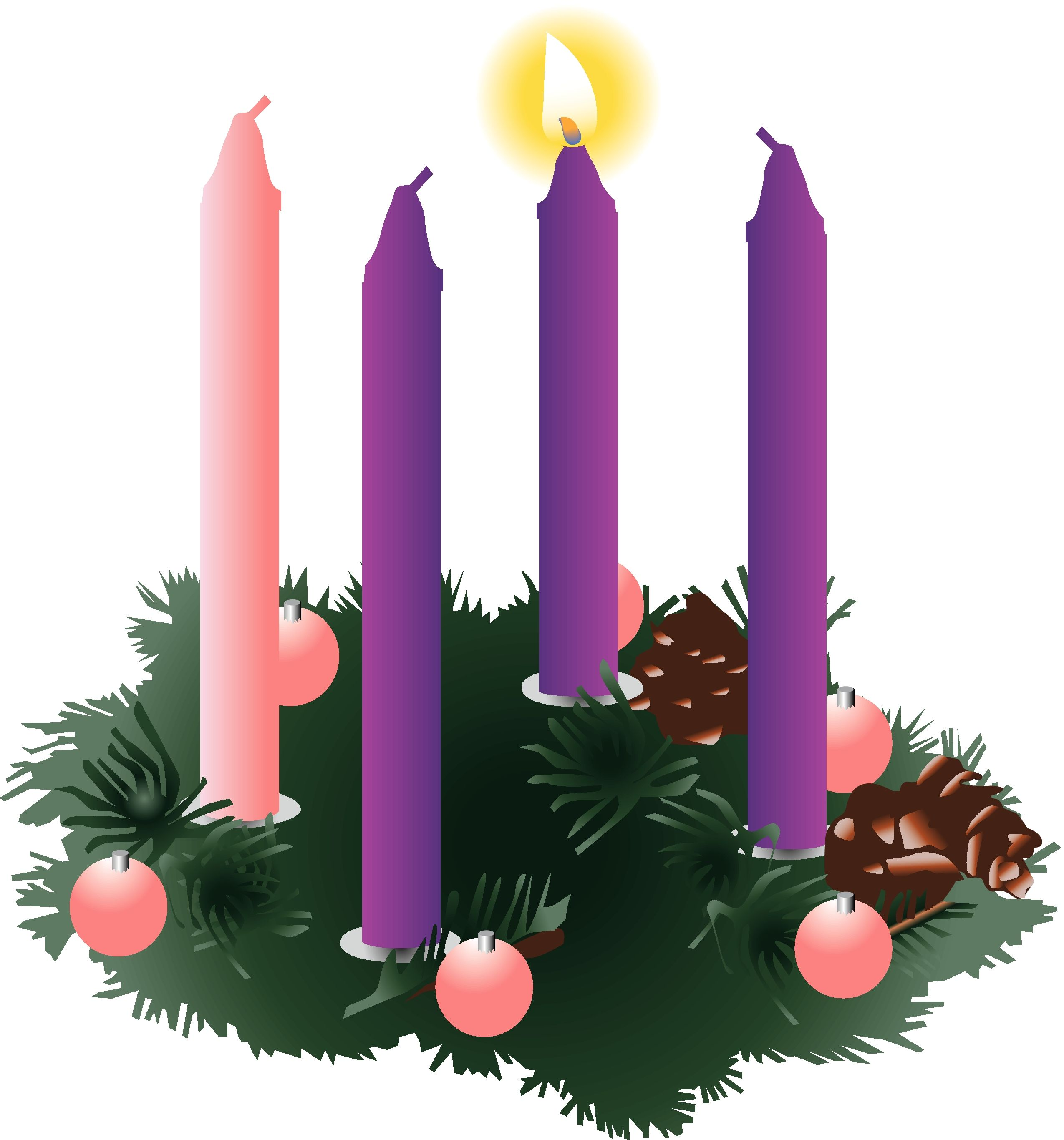 Advent clipart ring. Religious panda free images
