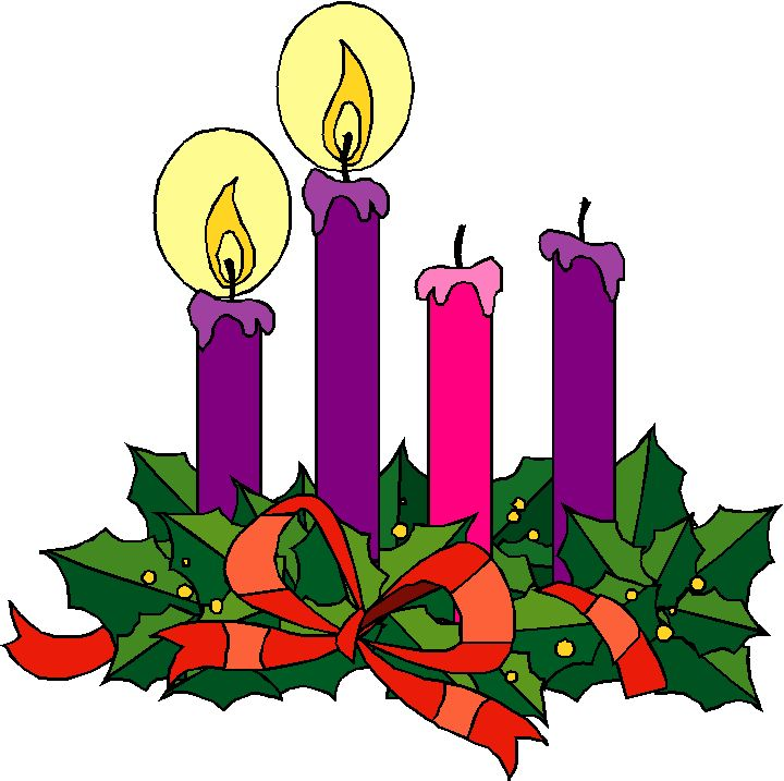Advent clipart ring. Wreath candles clipartuse