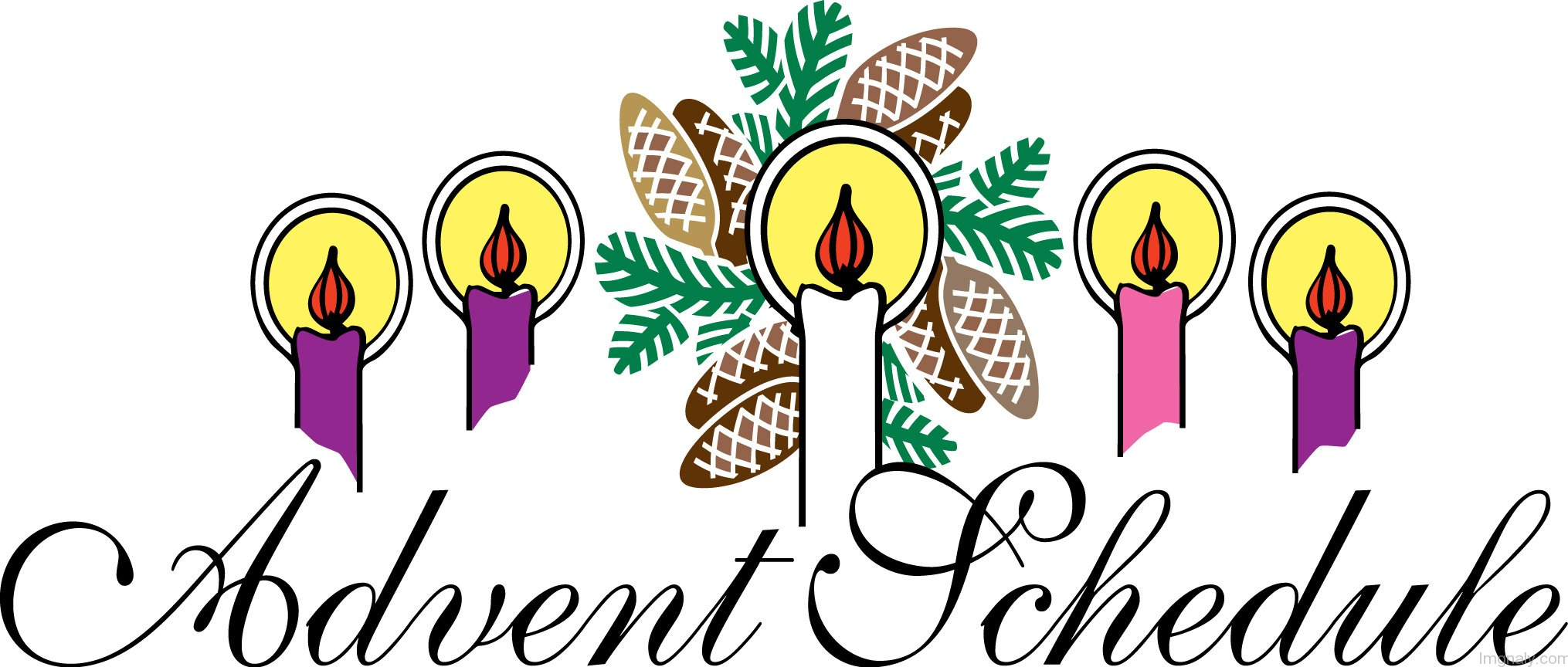 Adent sunday pictures and. Advent clipart service