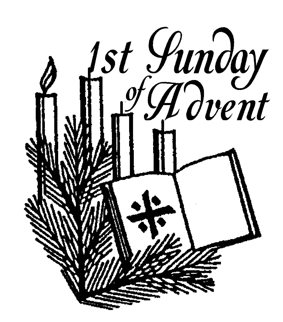 Free candles download best. Advent clipart service