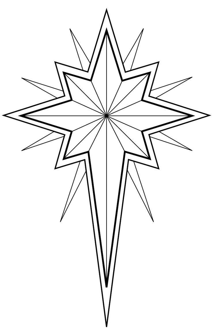 best religious clip. Advent clipart star