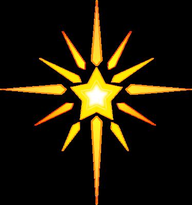 Christian clipart star. Image christmas clip art