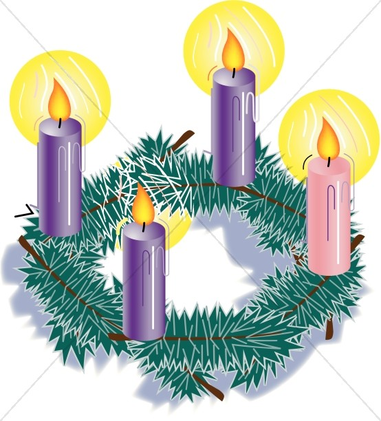 Clipart candle advent candle. Christmas candles