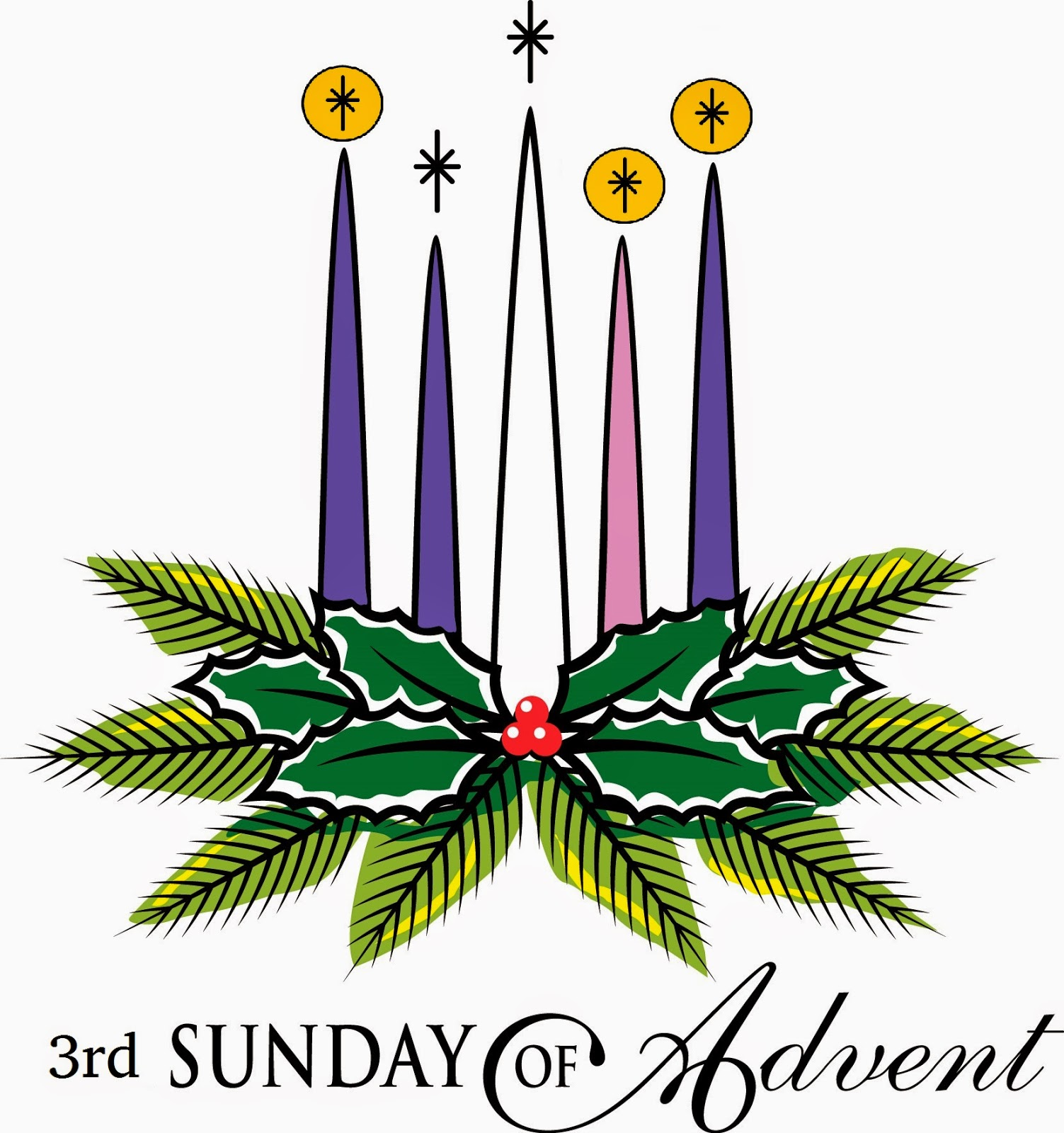 Pastor on the prairie. Advent clipart third