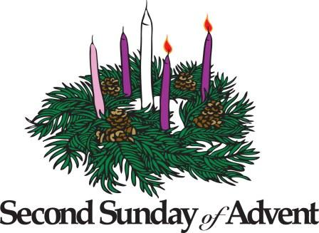 Advent clipart third. Second sunday of