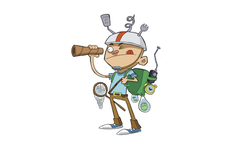On by aaron blecha. Adventure clipart adventure boy