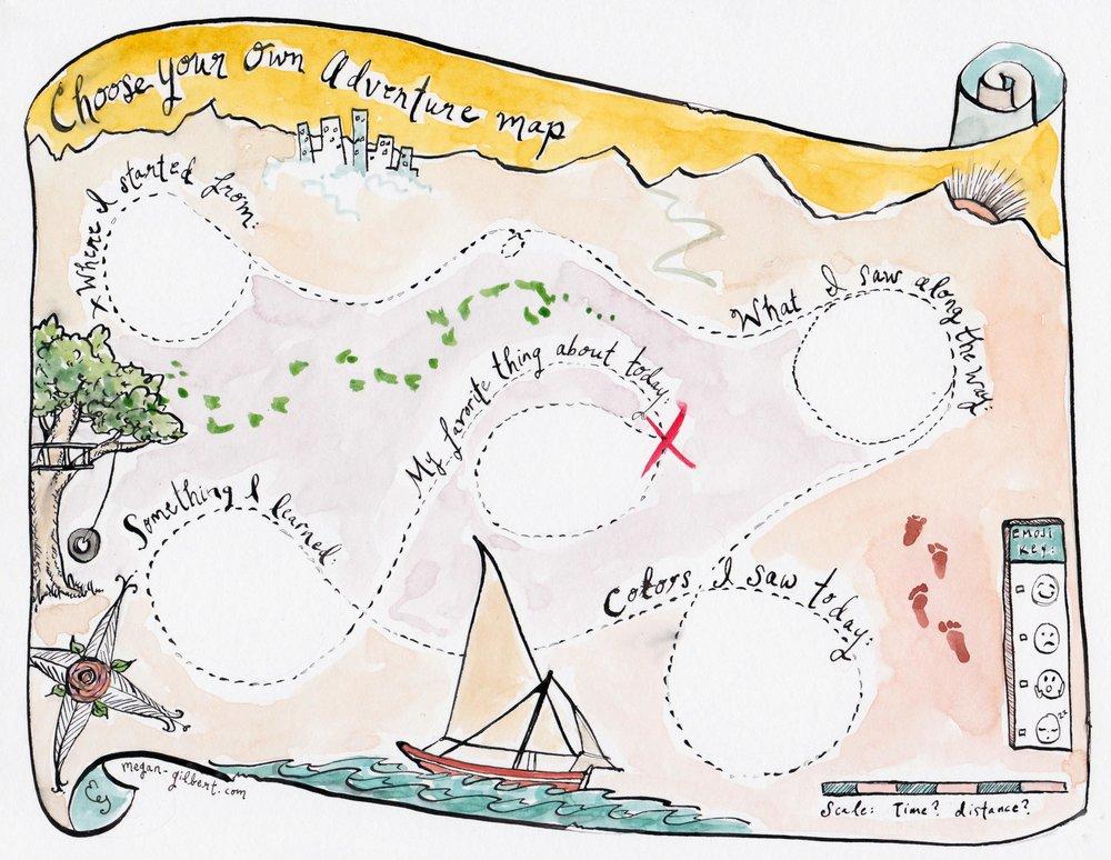 Adventure clipart adventure map. Portal