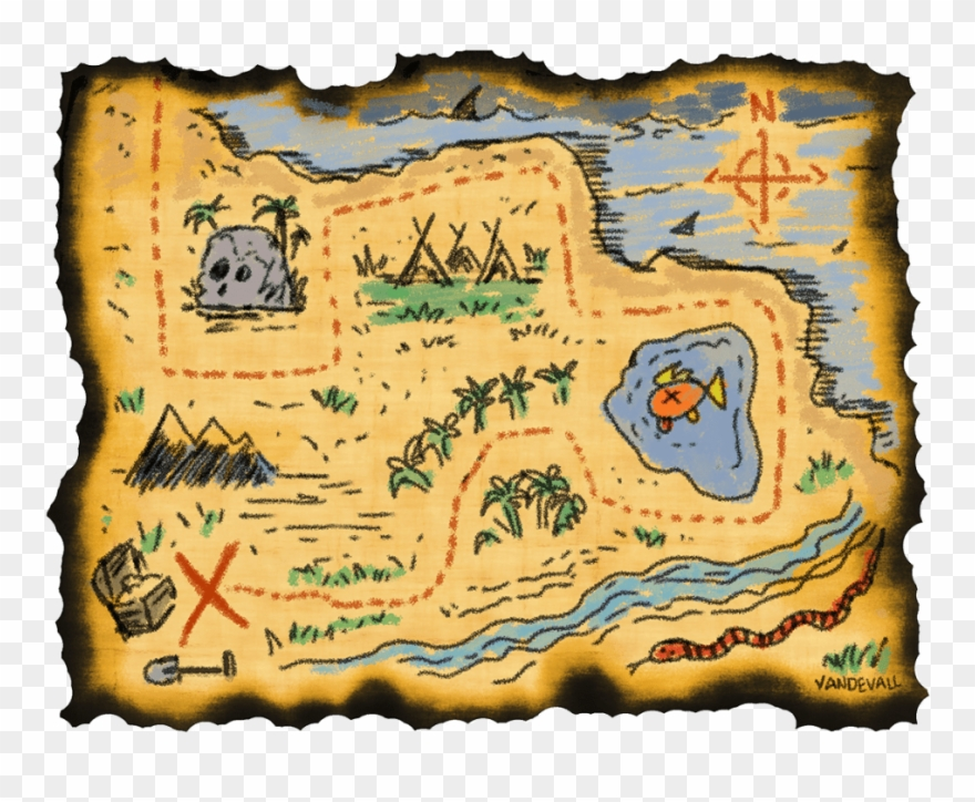 Draw a pinclipart . Adventure clipart adventure map