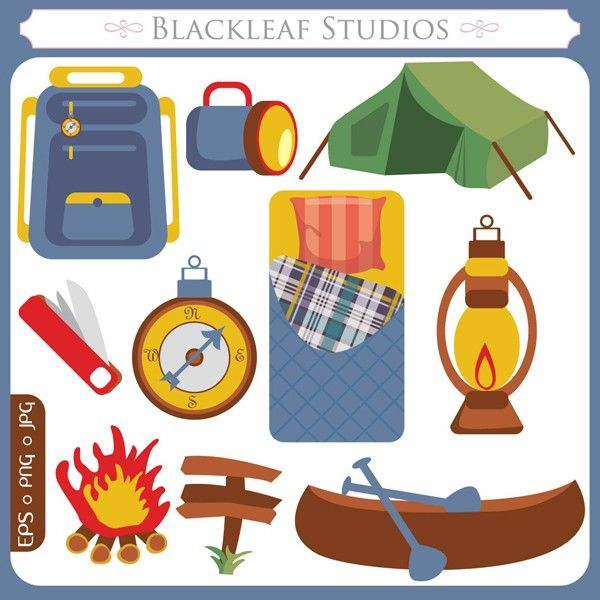 Campers paradise original outdoors. Camping clipart camping theme
