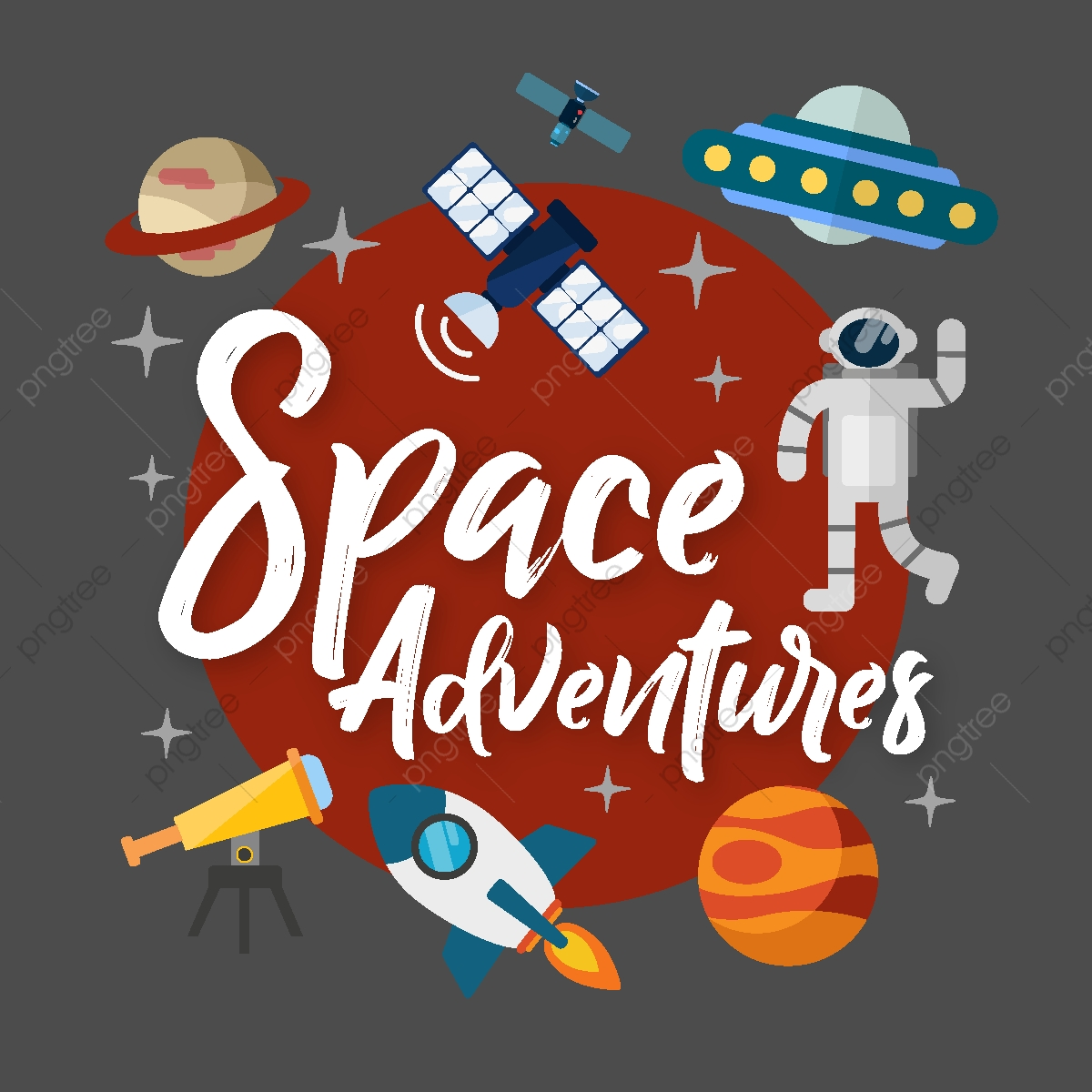 Space adventures png and. Adventure clipart adventure theme