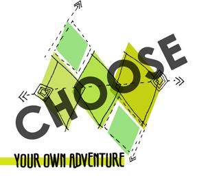 Choose your destiny paper. Adventure clipart adventure word
